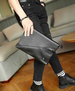 Tas Tangan Pria Model Korea Terbaru Juli 2016 Murah dan Mewah