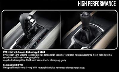 Transmisi Honda HR-V