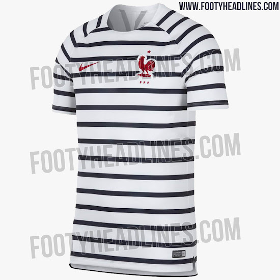 379dc1045 Hidden' Look At World Cup Kits? France 2018 World Cup Pre-Match ...