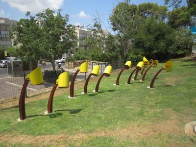 Sundial at Givataaim