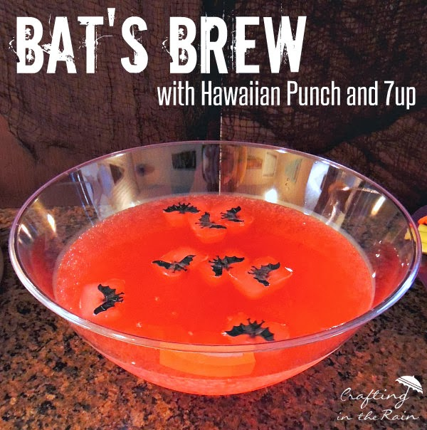 Halloween Hawaiian Punch | Crafting in the Rain