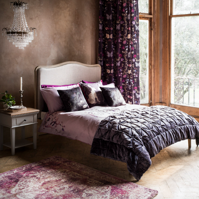 Bedroom with Lavender Touches