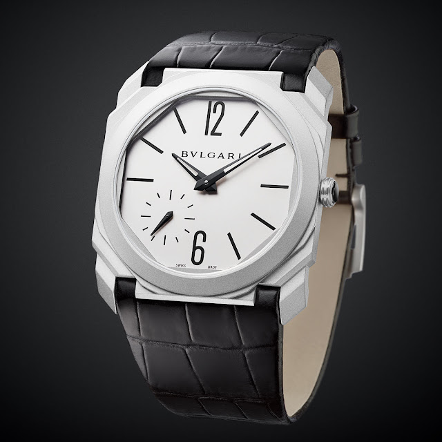 Bulgari Octo Finissimo Automatic Sandblasted in steel