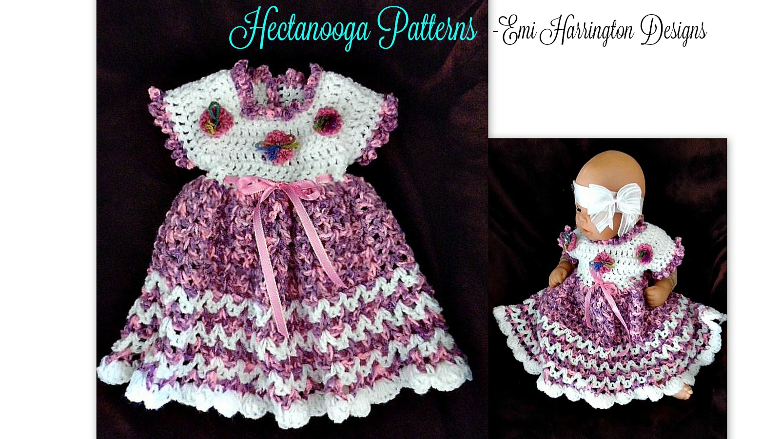 Hectanooga Patterns Free Crochet Pattern Marcie Baby Dress