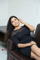 Telugu Actress Karunya Chowdary Latest Stills in Black Short Dress at Edo Prema Lokam Audio Launch .COM 0157.JPG