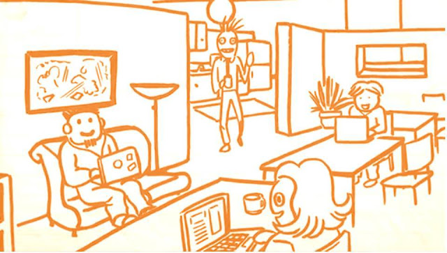 Coworking pode ser um bom espaço para se trabalhar