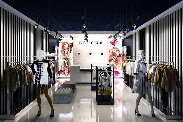 thiết kế shop thời trang nữ đẹp - mẫu số 9