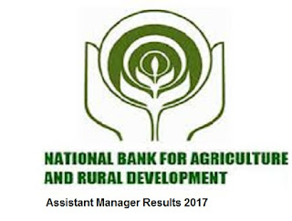 NABARD Assistant Manager Results 2017