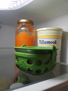 don't buy tupperware, instead try reused food packaging