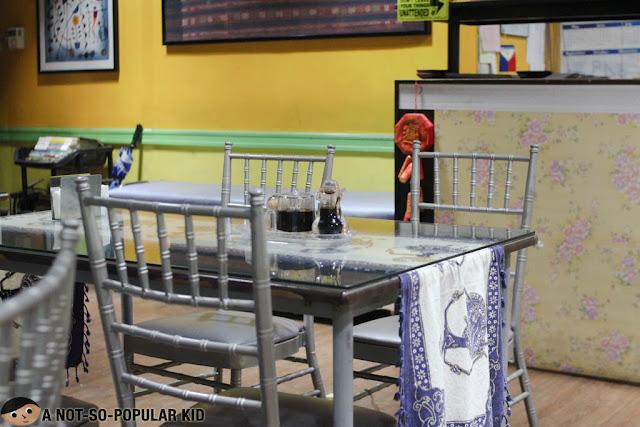 Interior of Warung Indo Restaurant