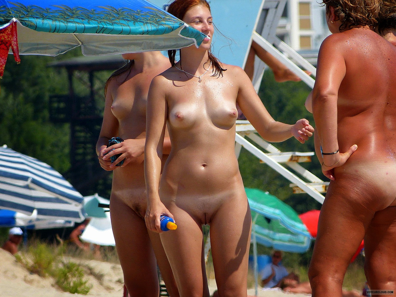 Nudism - Photo - Hq  Tanlines - Girls - Nude Beach-9562