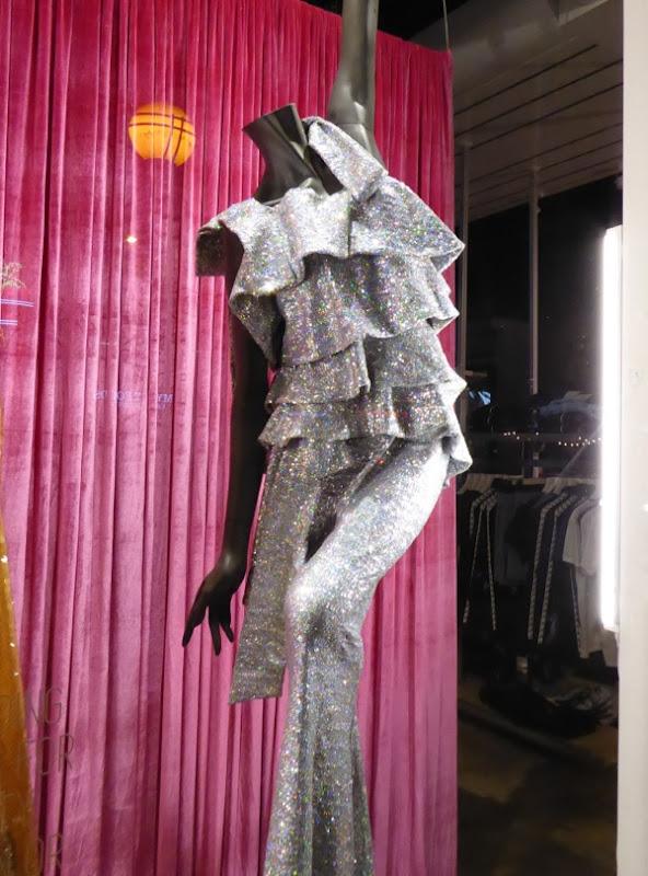 RuPaul Drag Race silver ruffles costume