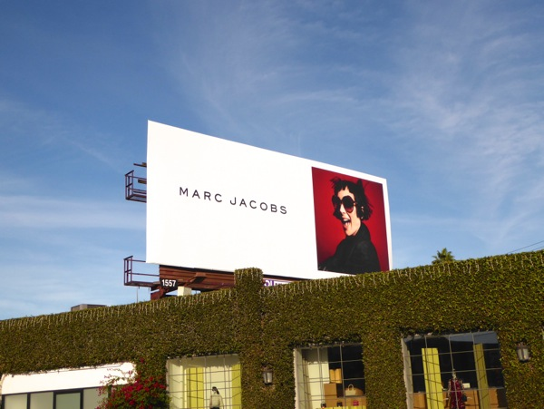 Winona Ryder Marc Jacobs FW15 billboard