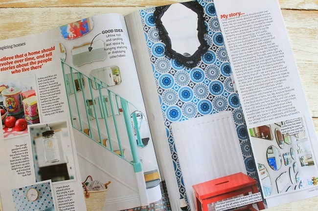 our home featured in the october issue of Home style maga