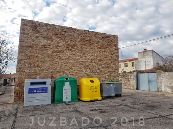 Juzbado, gestión de residuos, isla ecológica