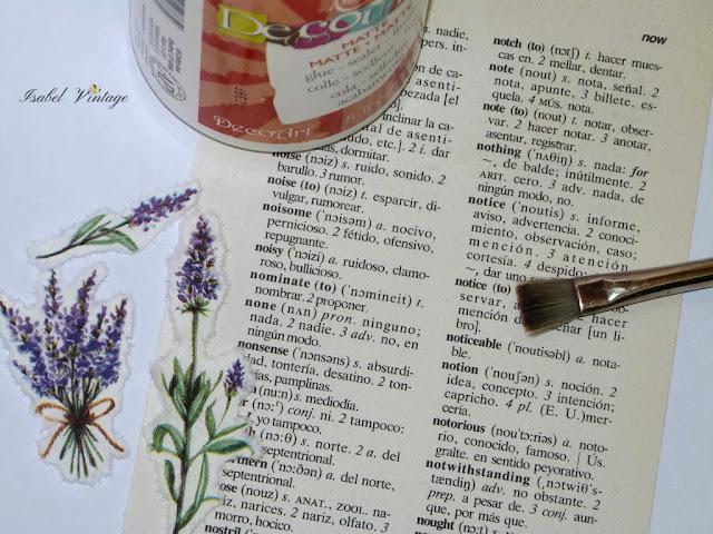 pagina-diccionario-servilleta-decoupage