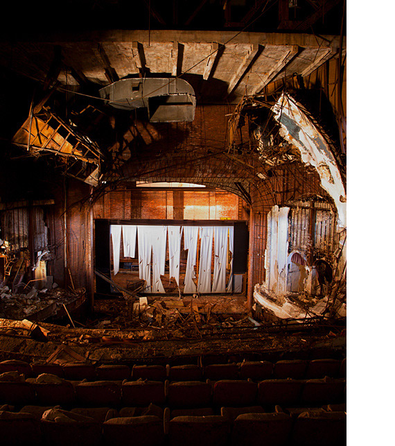 Abandoned Places: Abandoned Theaters