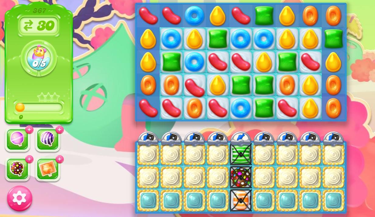 Candy Crush Jelly Saga 367