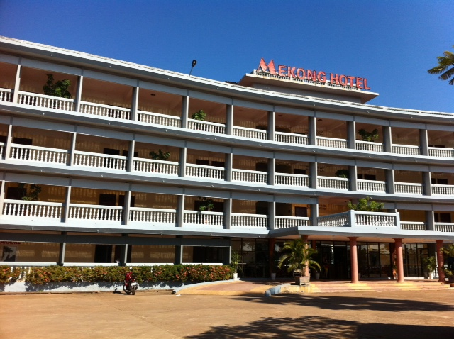Mekong Hotel in Thakhek, South Laos