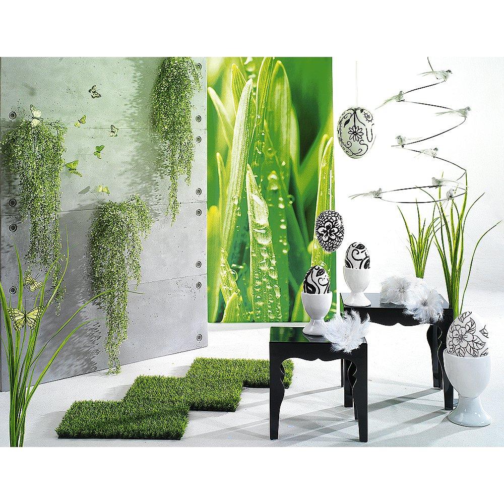 d co boutiques vitrine printemps gazon. Black Bedroom Furniture Sets. Home Design Ideas