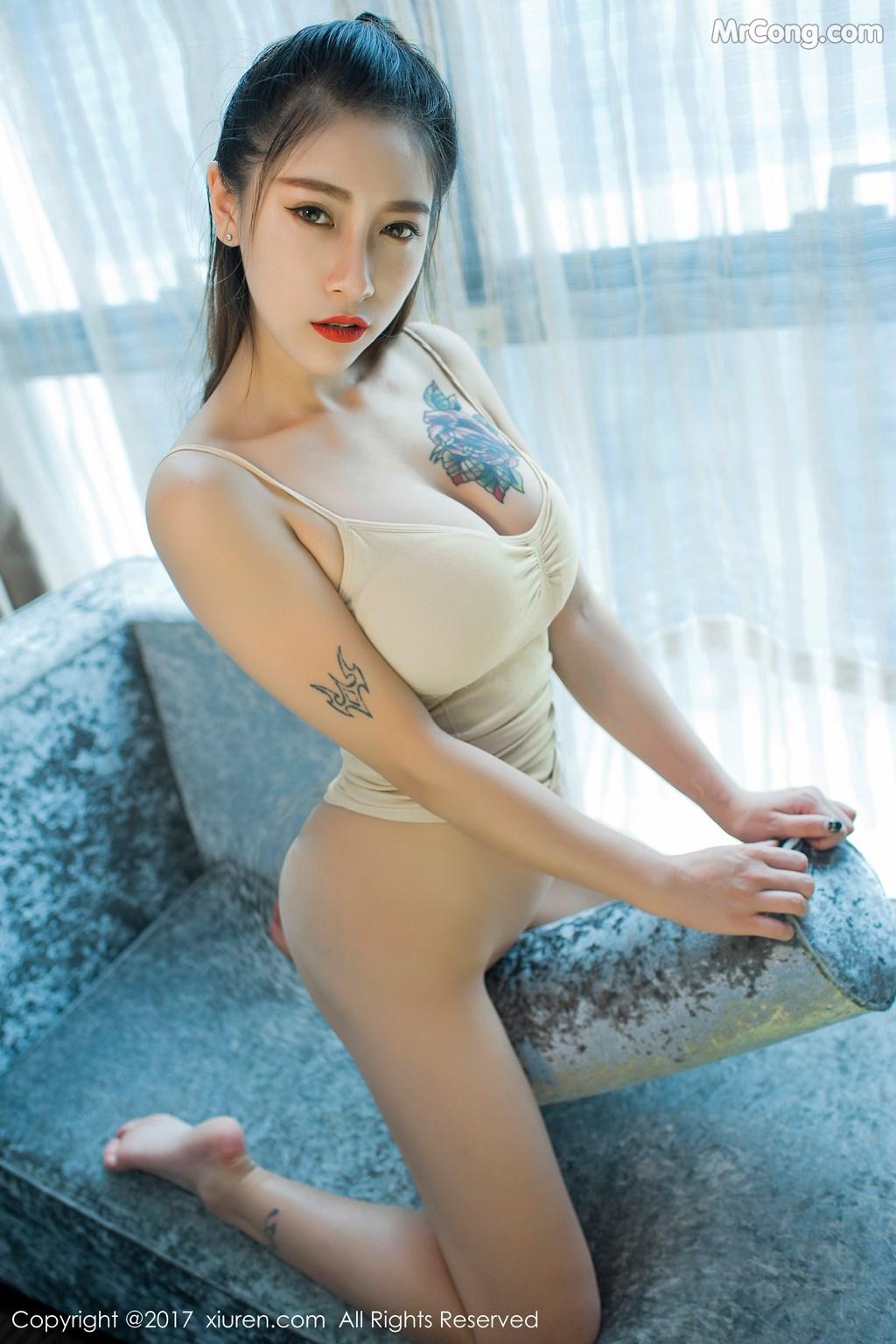 Image XIUREN-No.812-Du-Hua-Hua-MrCong.com-046 in post XIUREN No.812: Người mẫu Du Hua Hua (杜花花) (48 ảnh)
