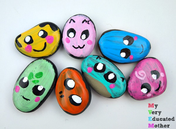 Paint your own Pokemon rocks and play a game of hide and seek with the kids!