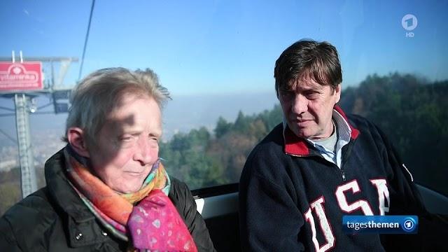 Schleyer Sohn trifft  RAF Mitglied Maier-Witt in Skopje