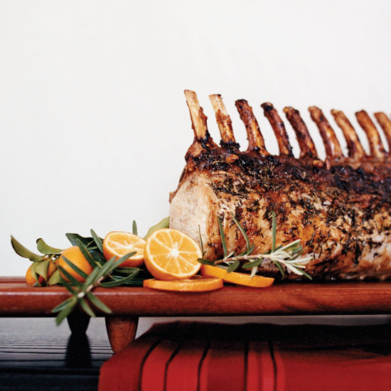 International food blog american christmas roasts from food and wine - Christmas pork roast five recipes ...
