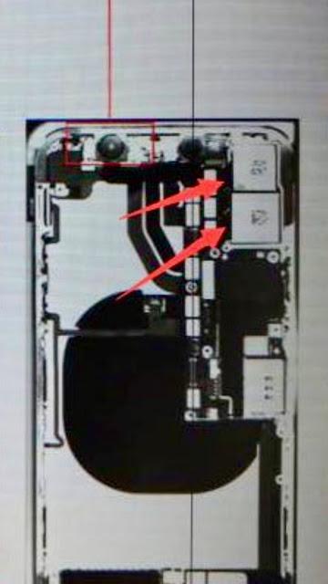 Gambar jeroan iPhone 8 beredar dengan sentup dual kamera