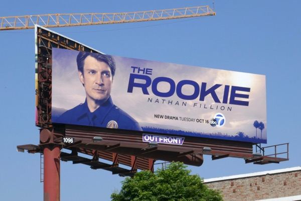 Rookie TV series billboard