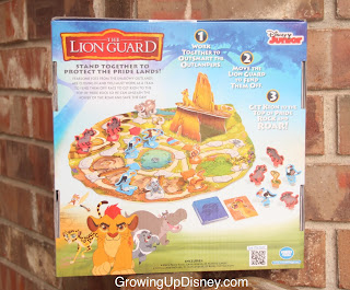 Growing Up Disney, The Lion Guard, back of game box