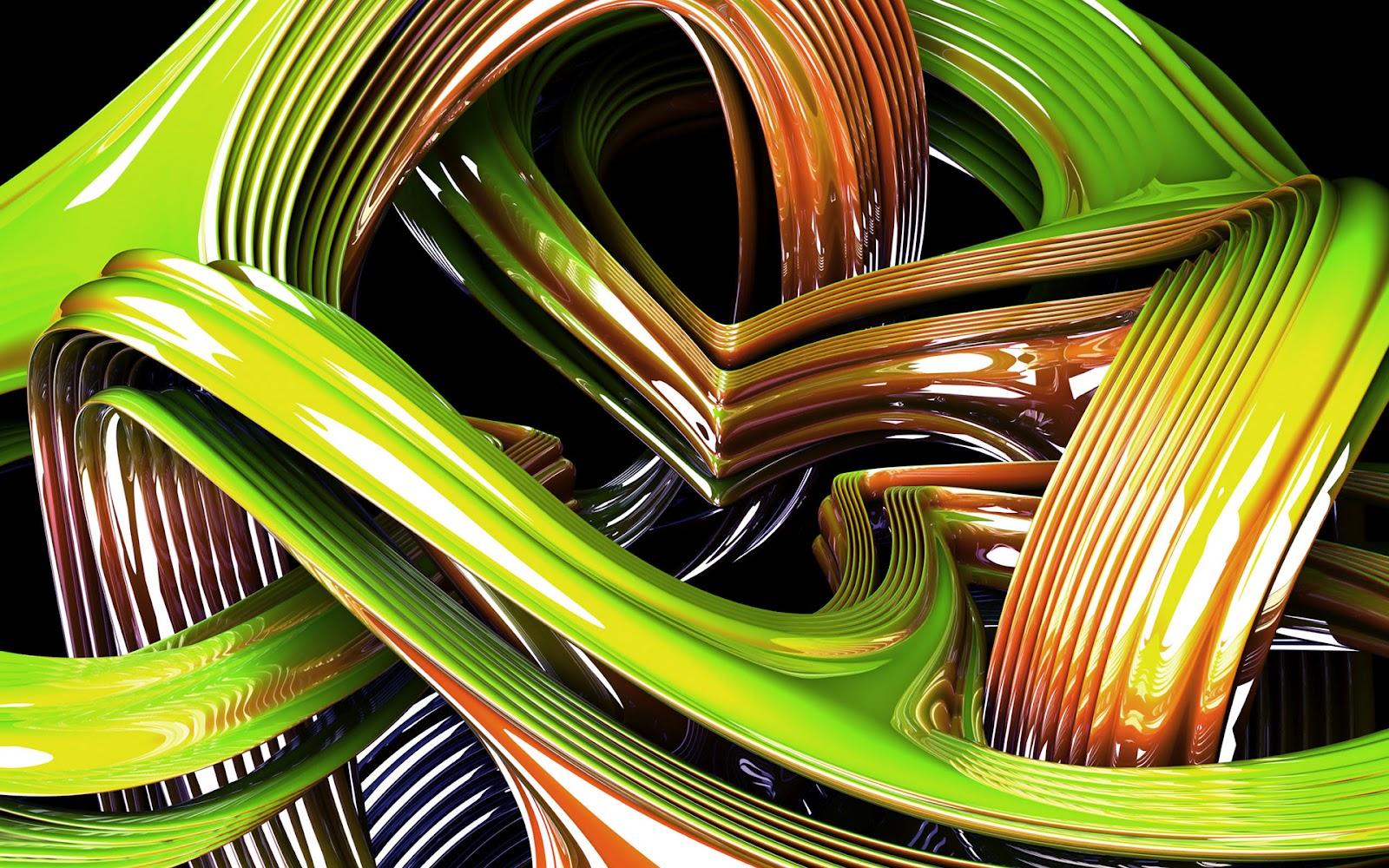 Great Abstract 3d Wallpaper Graphic
