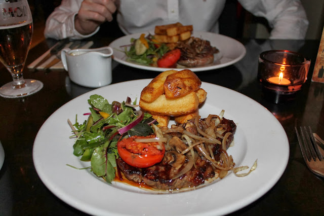 Whinstone View Bistro - Steak Night, Restaurant Review, Great Ayton