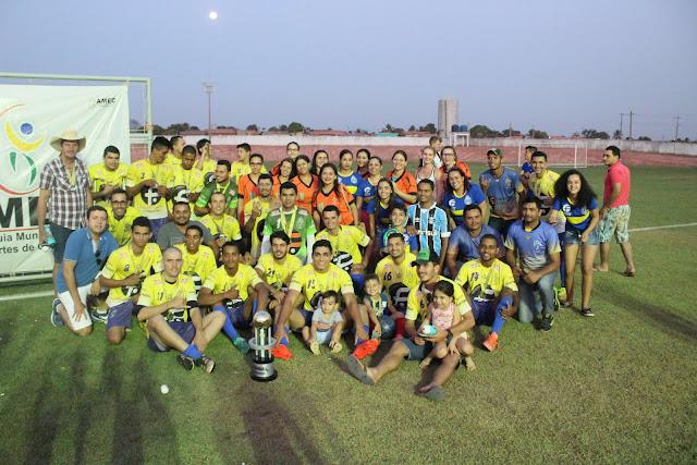 Inicia neste domingo o Campeonato Municipal de Futebol