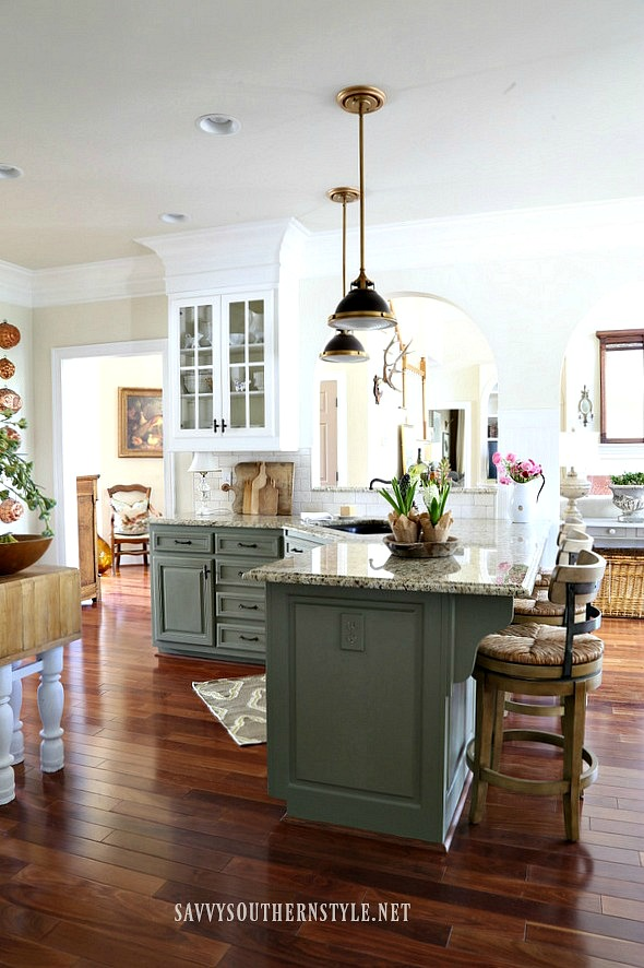 kitchen revealtake two Savvy Southern Style