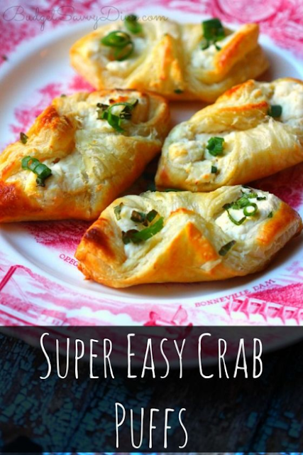 Super Easy Crab Puffs