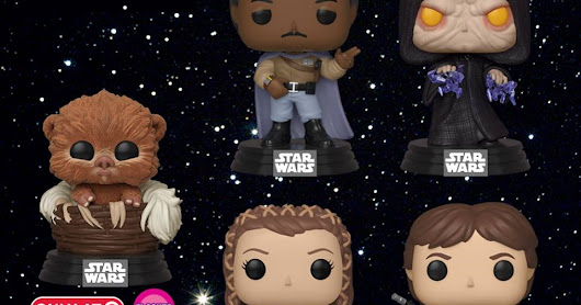 Funko Unveils New Collection Of 'Return Of The Jedi' Pop! Figures