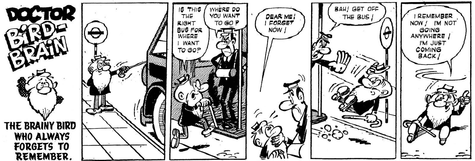 Doctor Bird-Brain, Buster nº 47 ¿Gin?