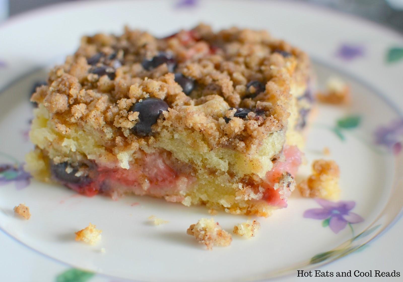 Blueberry Crunch Coffee Cake