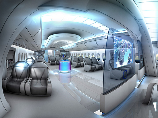 Futuristic Luxurious Bathrooms: FLYING HOUSE: Luxury Interiors Of Flying Hotels, Zeppelins