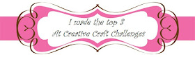 Creative Craft Challenges2 Top 3