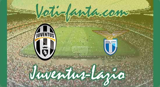 Juventus Lazio formazioni uffciali