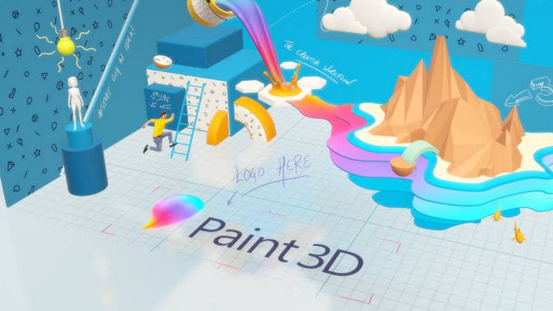With the Windows 10 build 21332, Microsoft removes 3D Viewer and Paint 3D on clean installs