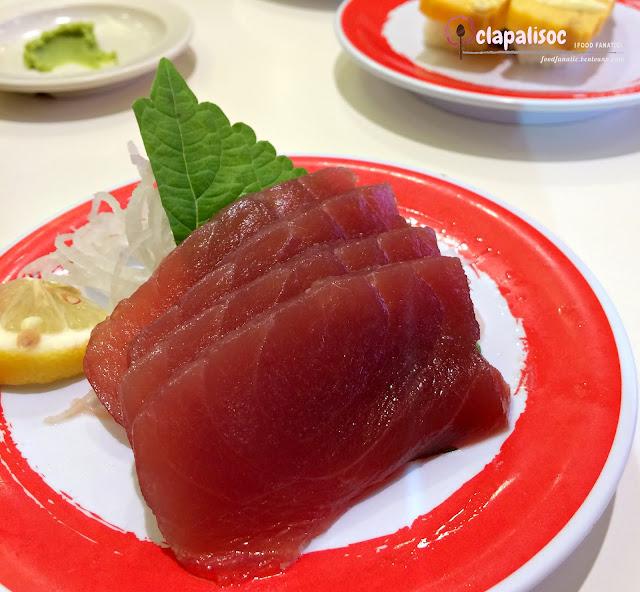 Tuna Sashimi from Genki Sushi