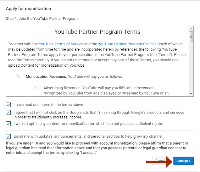 youtube channel par adsense connect karne ke steps