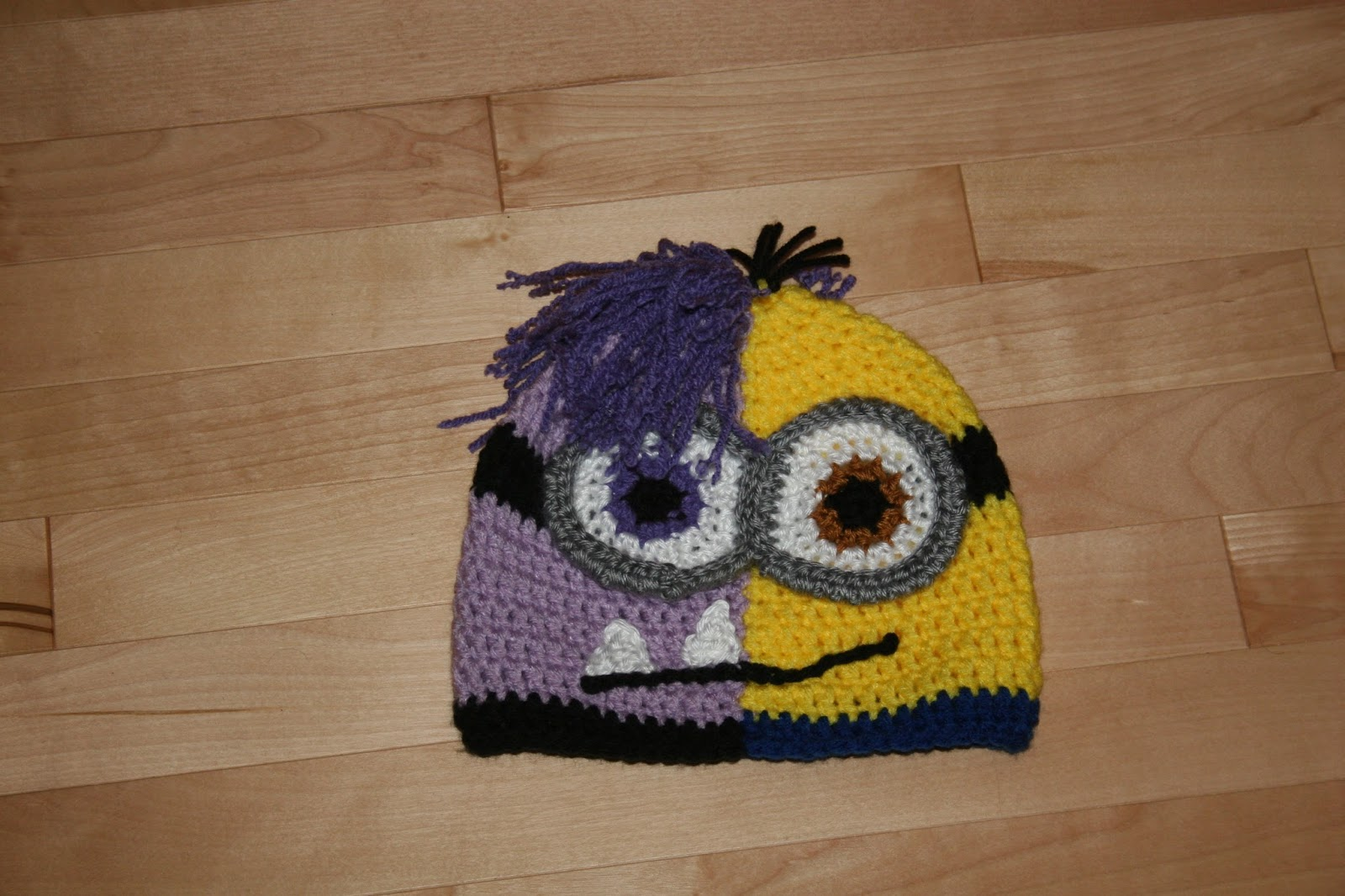 As an aunt I get frequent requests from my niece and nephews. My niece  requested a minion hat. I thought