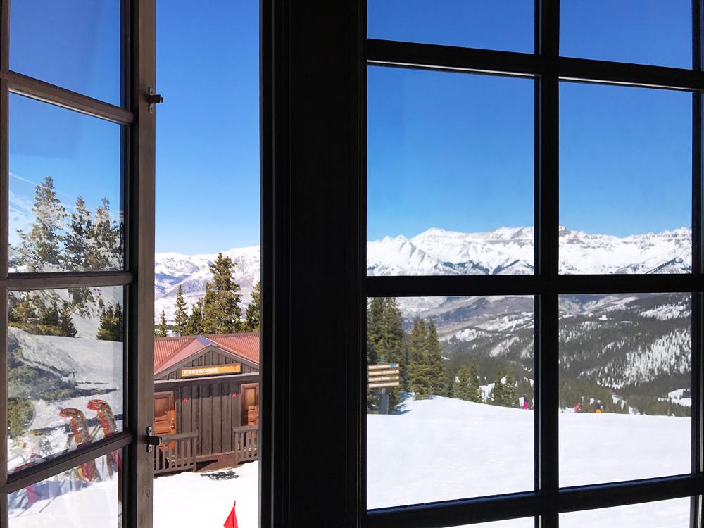 Ski Telluride, blue bird day.