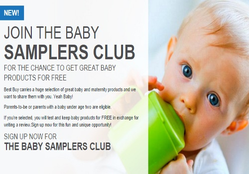 Best Buy Baby Samplers Club