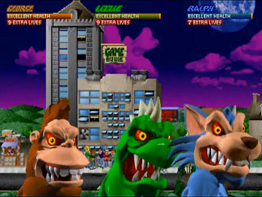 rampage video game lizzie