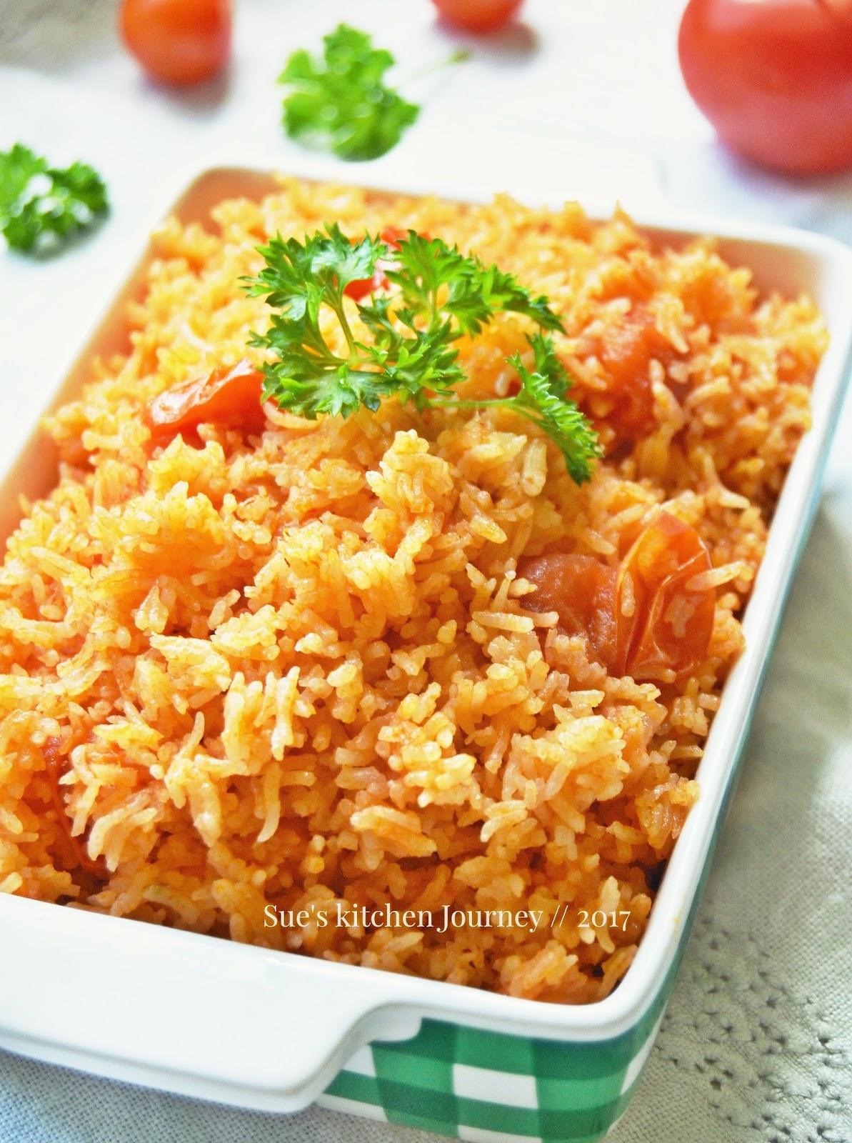 Nasi Tomato Mudah dan Sedap ~ Swesia's Journey